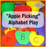 Apple Themed Alphabet Play