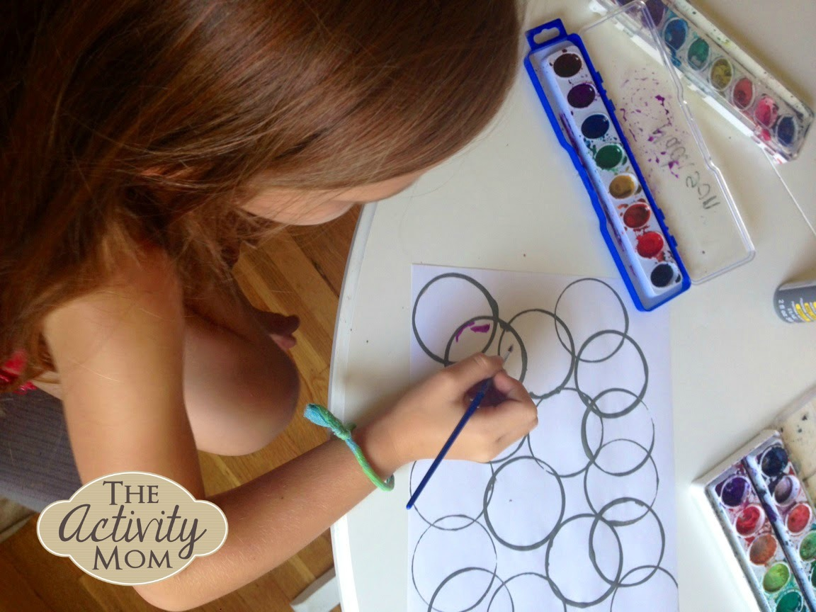 Completely new The Activity Mom - Circle Art - The Activity Mom QV29