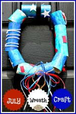 July Wreath Craft