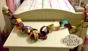 Paper Chain Countdown 6