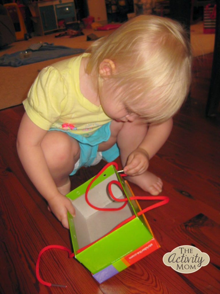 Toddler Lacing Toy 2
