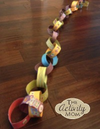 paper chain countdown 5