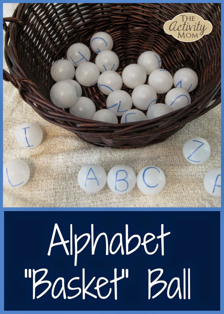 Alphabet Basketball