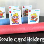 DIY Pool Noodle Card Holder