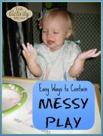 Easy Ways to Contain Messy Play