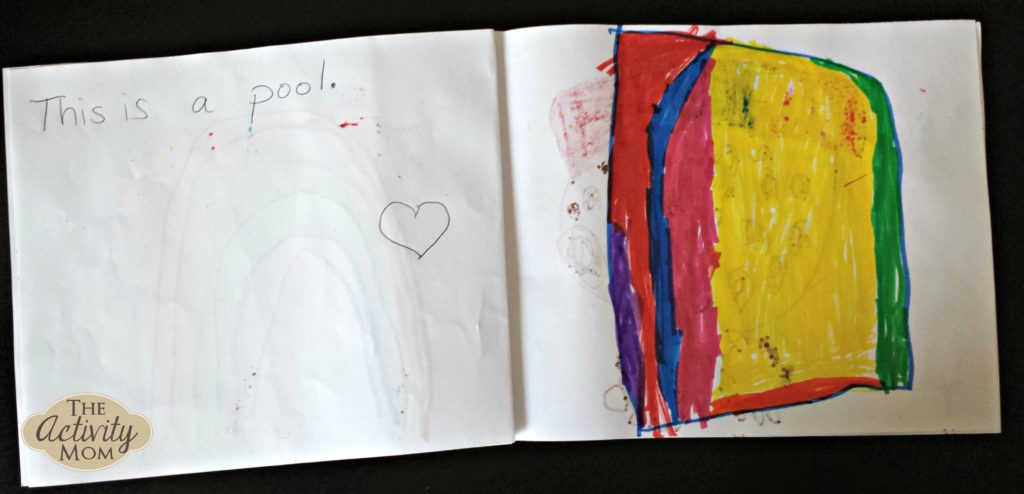 Publishing Books with Your Preschooler