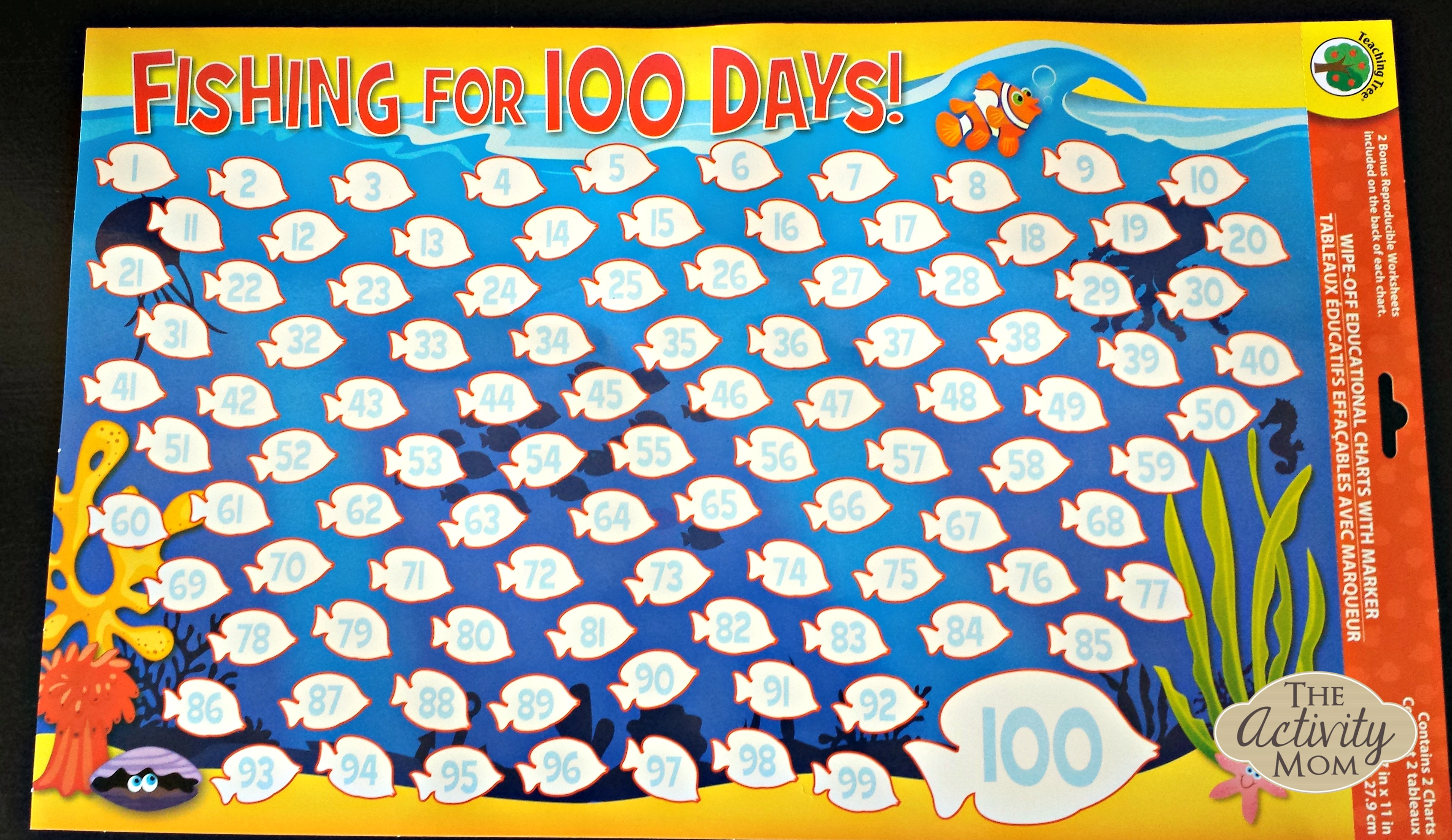 The Activity Mom - Race to 100 Math Game - The Activity Mom
