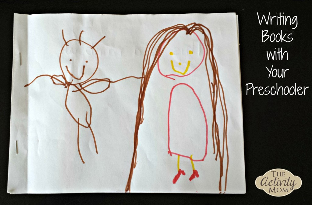 Writing Books with Your Preschooler