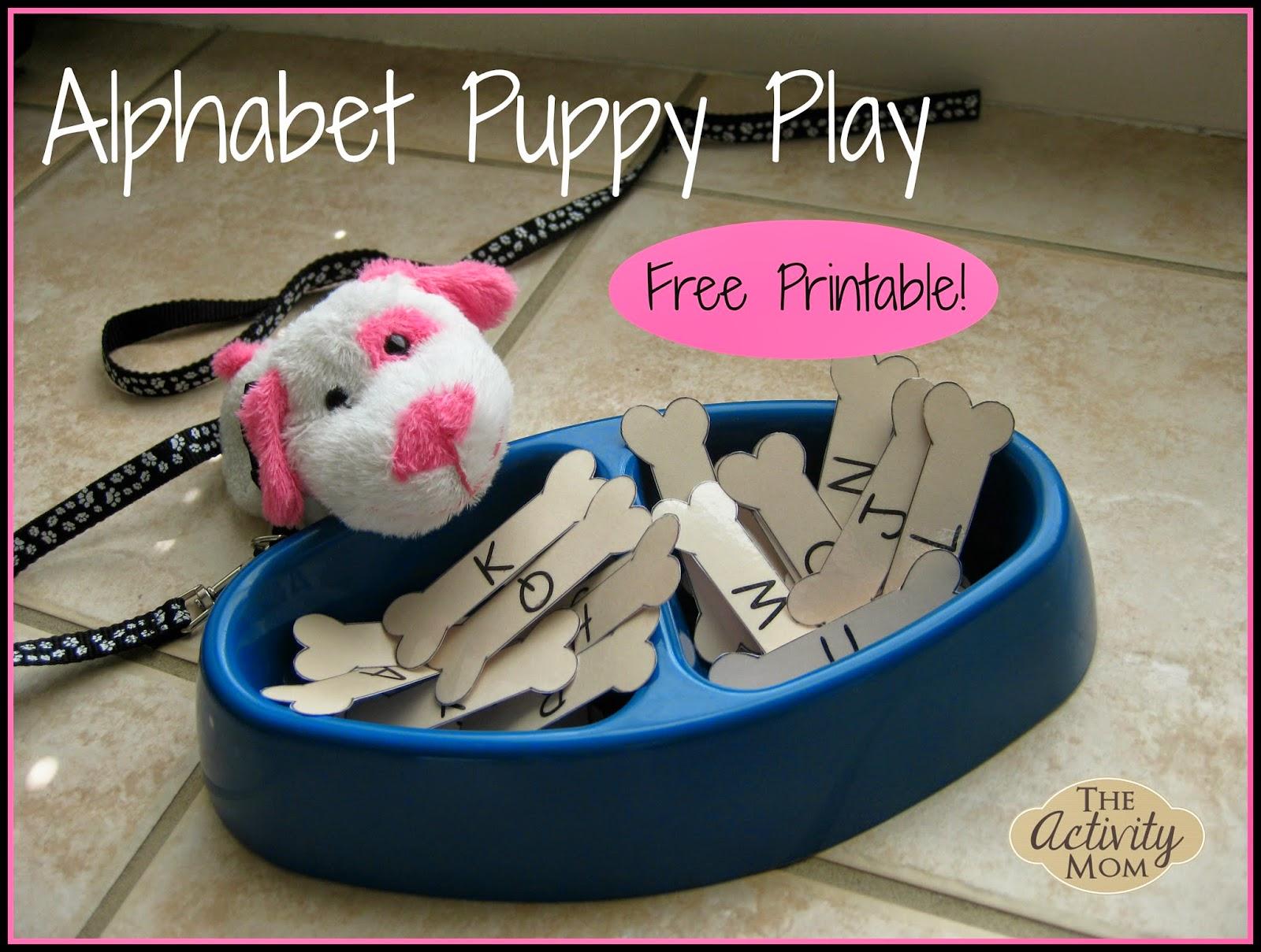 Alphabet Puppy Play