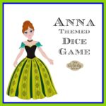 Anna Themed Dice Game