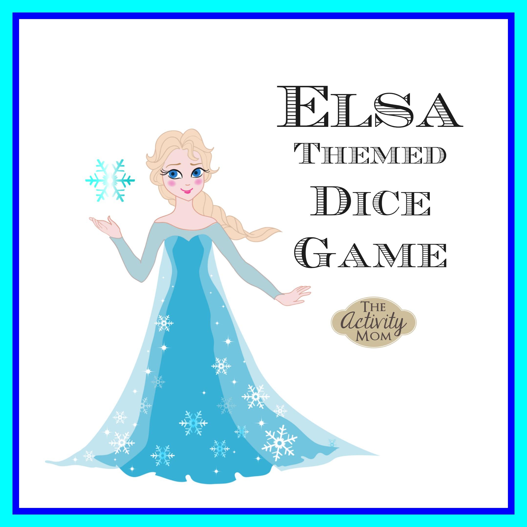 Elsa Dice Game