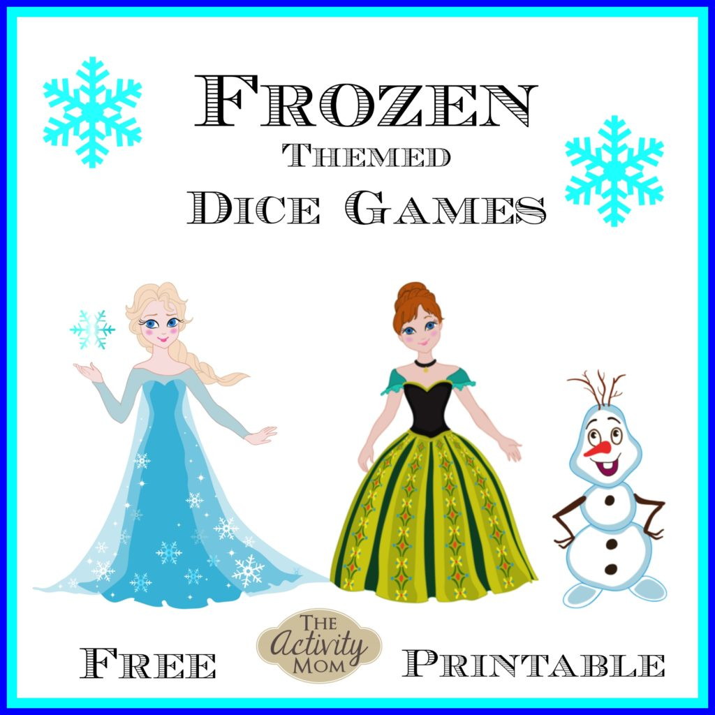 Frozen Themed Dice Games