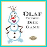 Olaf Dice Game