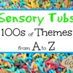 Alphabetized Sensory Activities for Toddlers