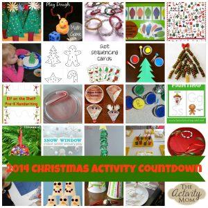 2014 Christmas Activity Countdown