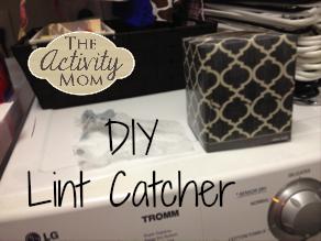 DIY Lint Catcher