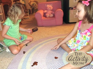 Game with Pennies for Kids