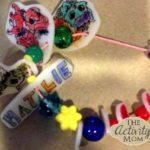 Shrinky Dink Craft Bracelet