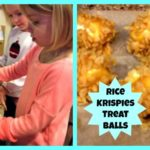 Cooking with Kids – Rice Krispies Treat Balls