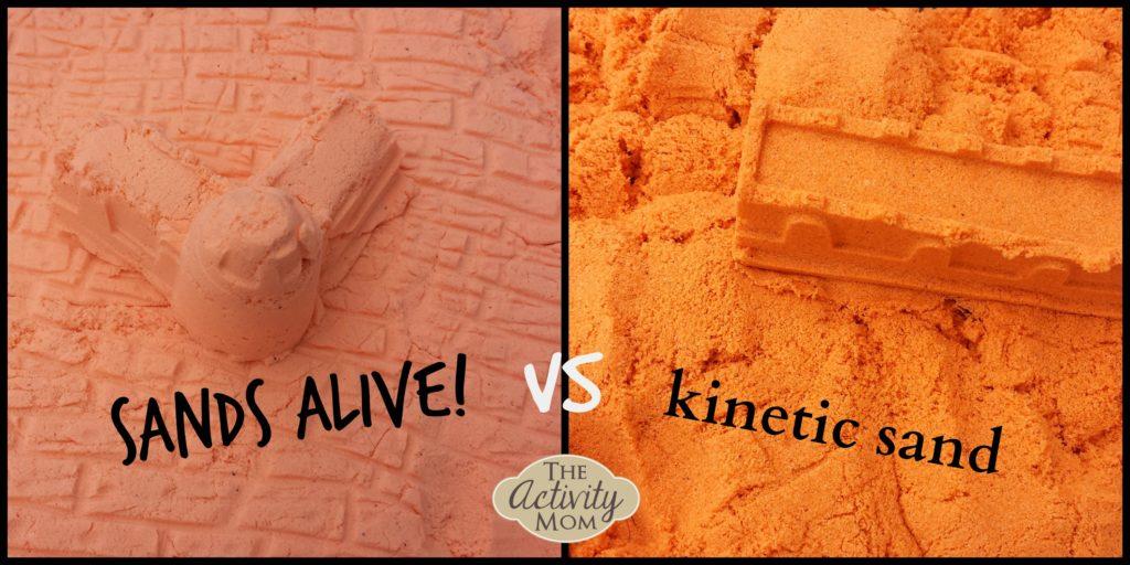 Sands Alive vs Kinetic Sand