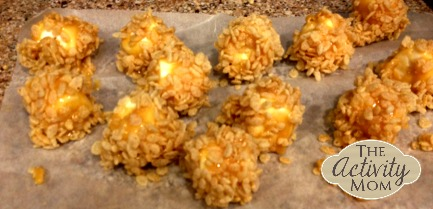 Rice Krispies Treat Balls
