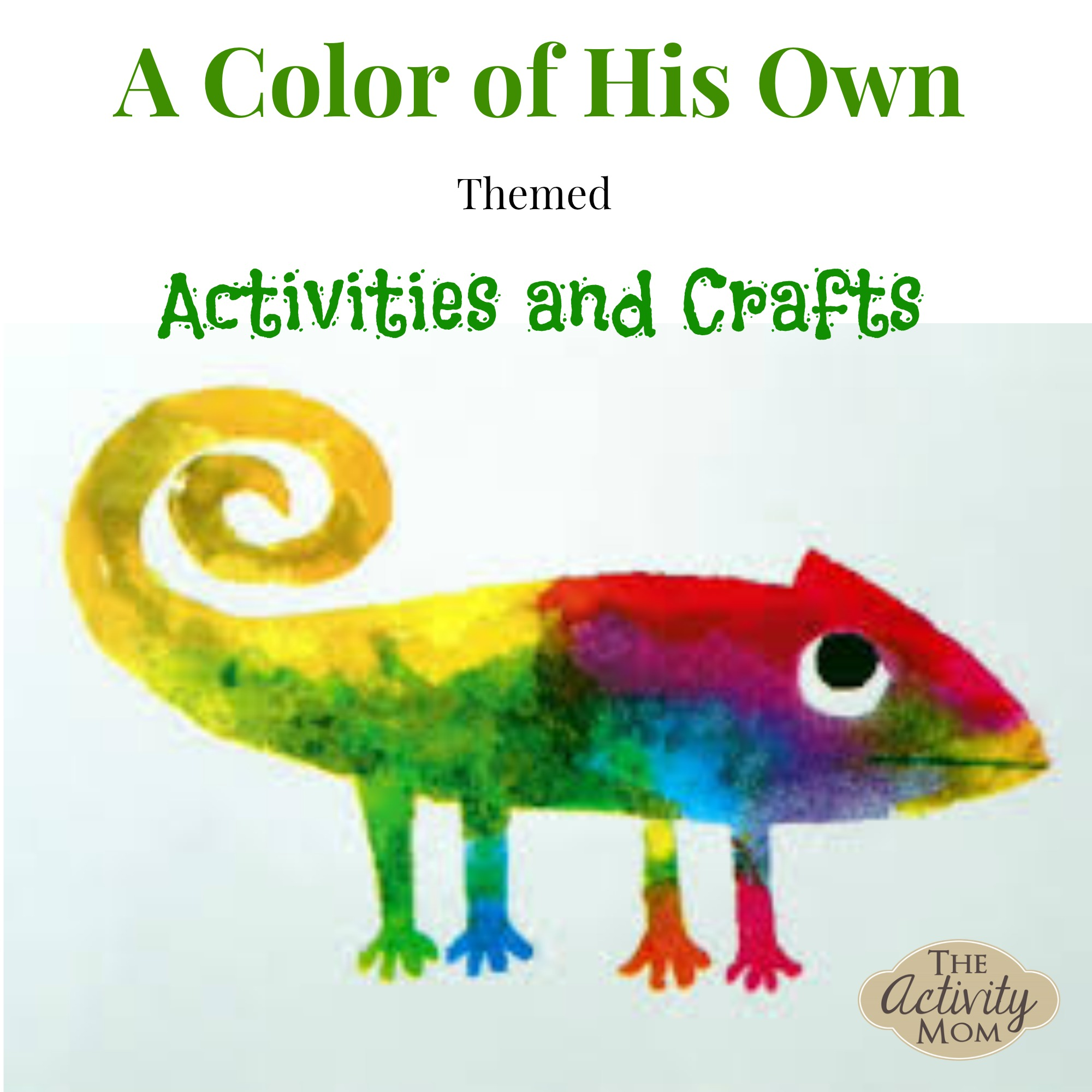 a color of his own activities and crafts - Preschool Books About Colors