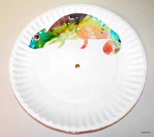 Color of His Own Plate Craft