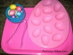 Host an Easter Themed Tot School