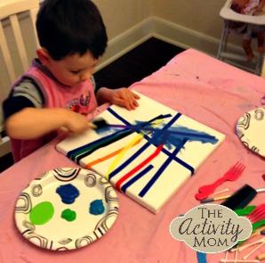 Tape Art for Kids