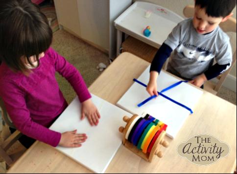 Masking Tape Art for Kids