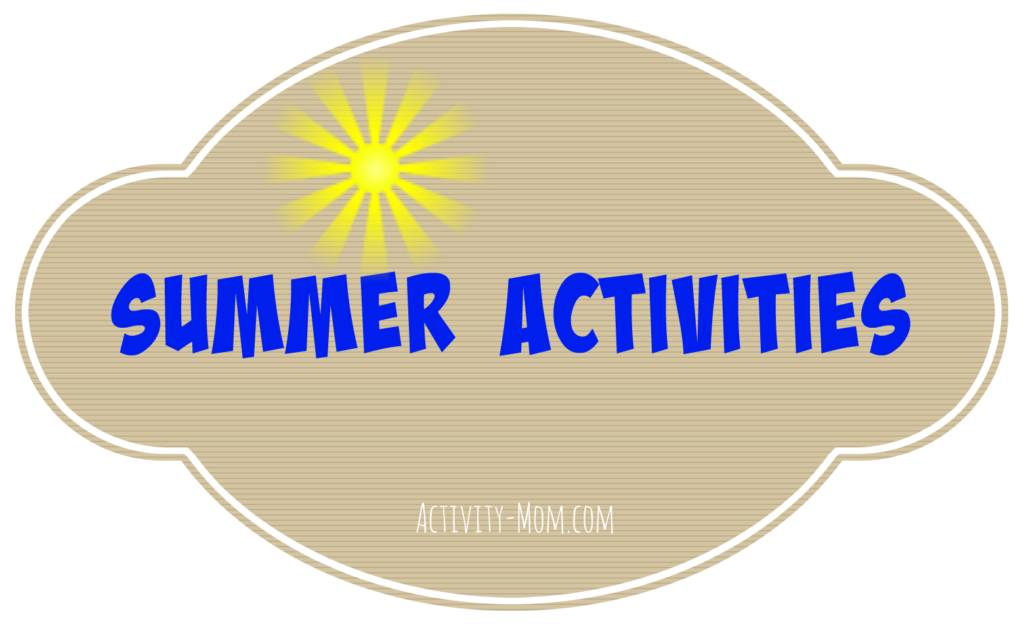 Summer Activities from The Activity Mom