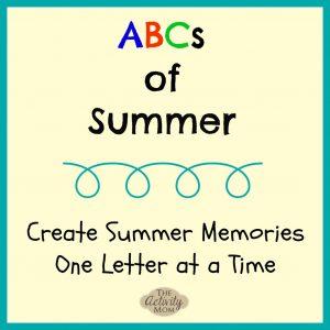 ABCs of Summer Memories