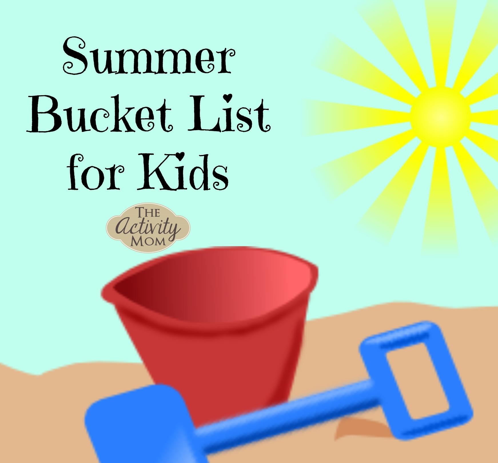Kids' Summer Bucket List