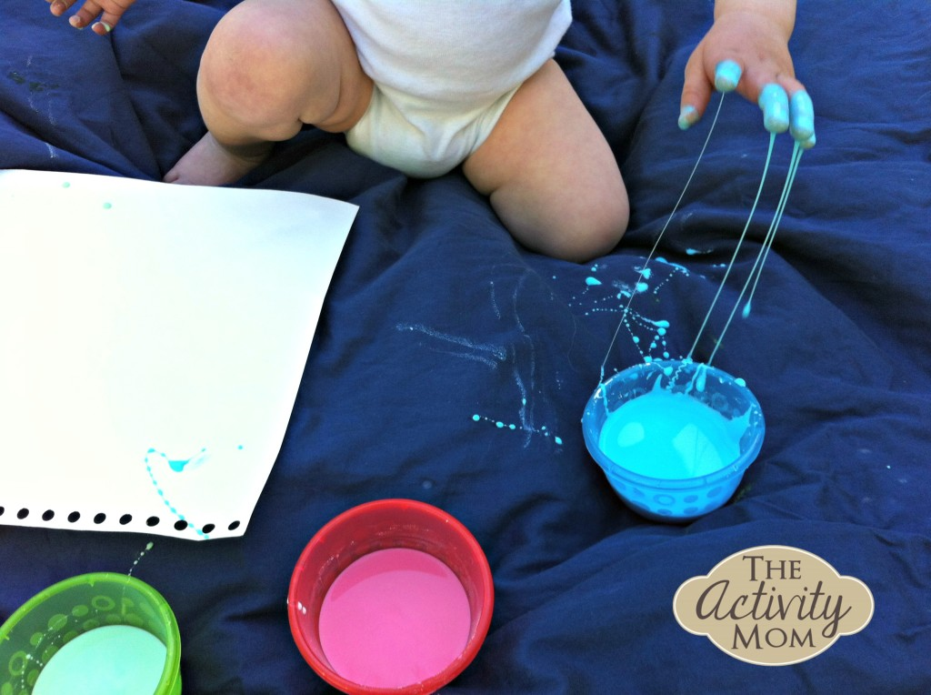Colored Oobleck Recipe