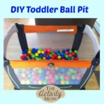 DIY Toddler Ball Pit