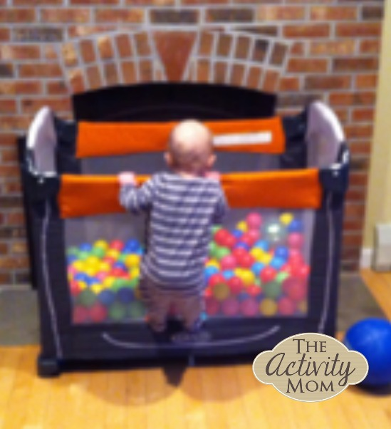Make Your Own Toddler Ball Pit