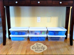 Rotating Toys in Your Play Room