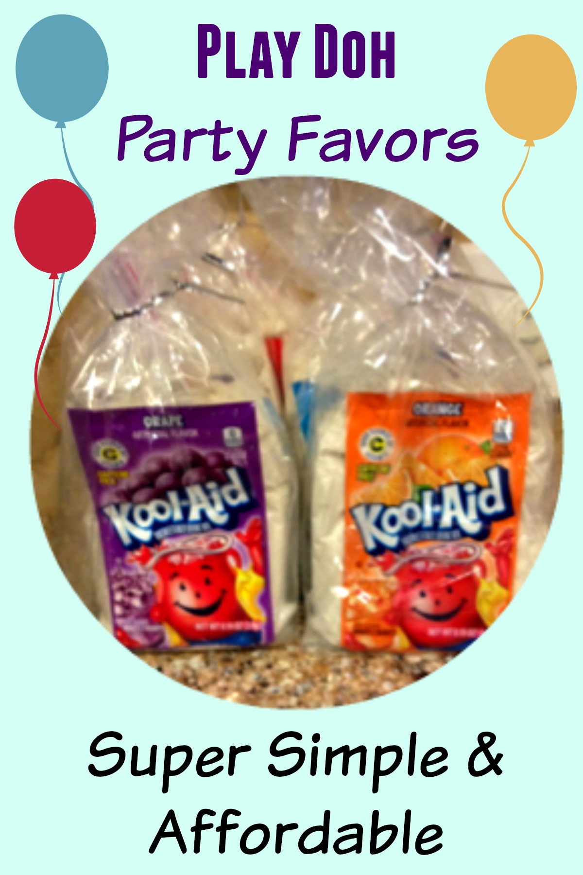 Play Doh Party Favors