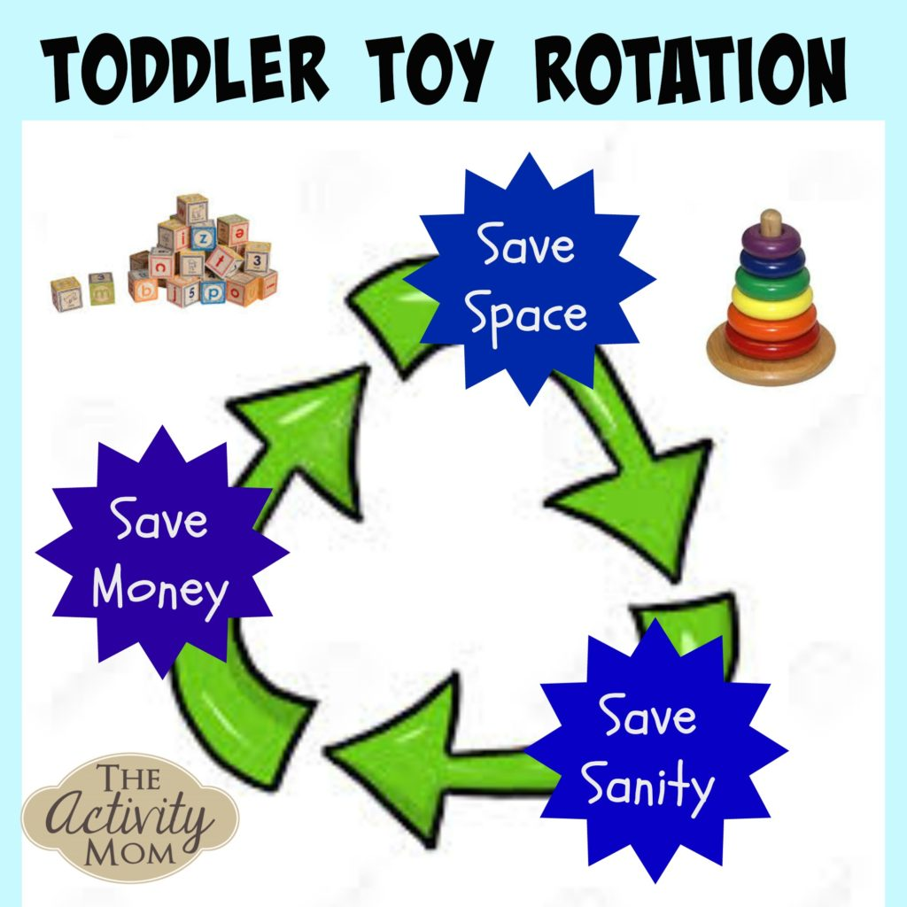 Toy Rotation for Toddlers