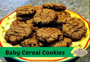 Baby Cereal Cookies