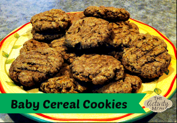 Baby Cereal Cookies
