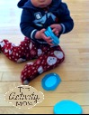 Upcycling Baby Wipe Lids