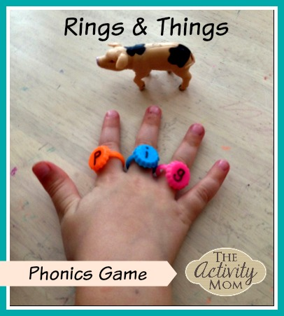 Rings and Things Phonics Game