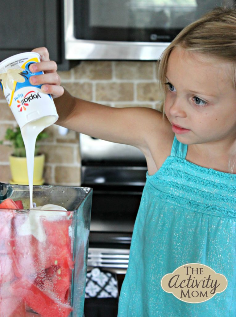 Summer Snacking with Yoplait