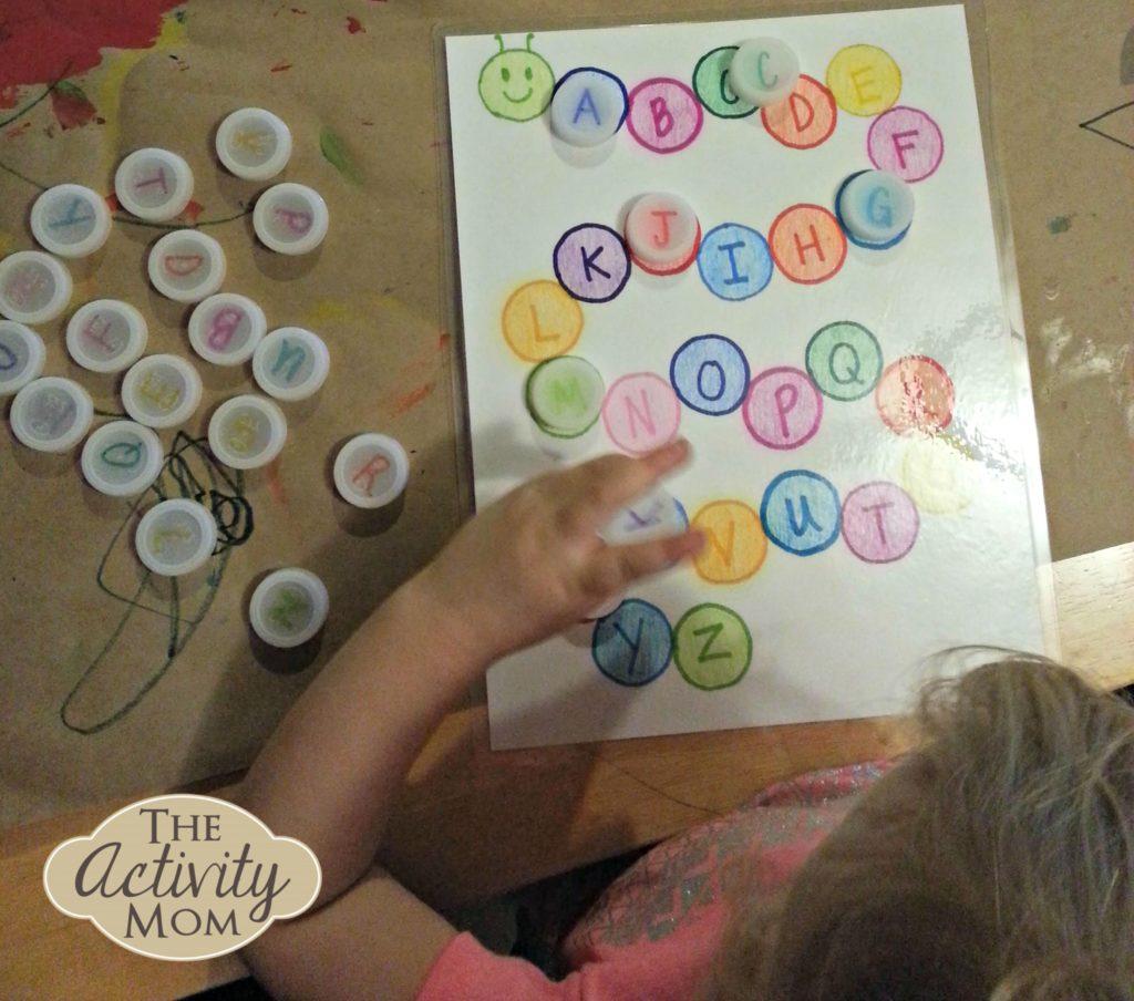 Free Toddler Alphabet Activity