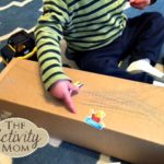 1 Year Old Activities with Boxes
