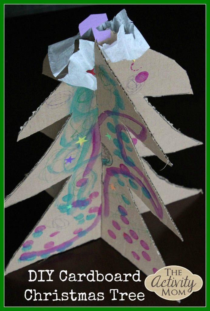 DIY Cardboard ChristmasTree