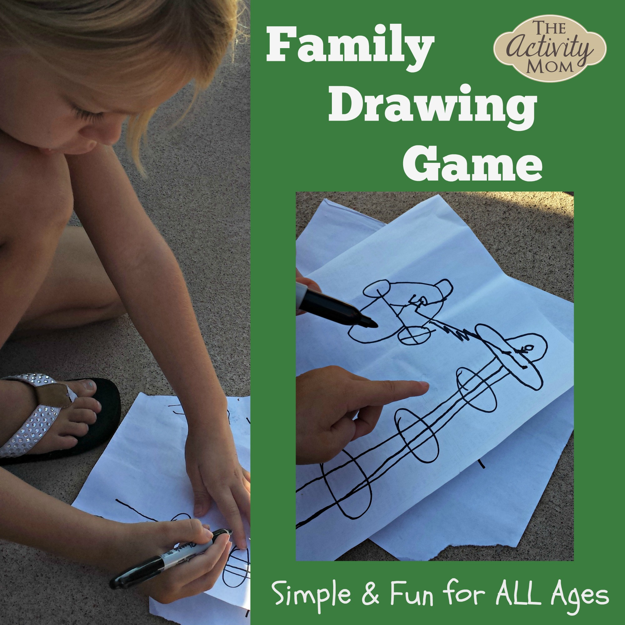 Family Drawing Game