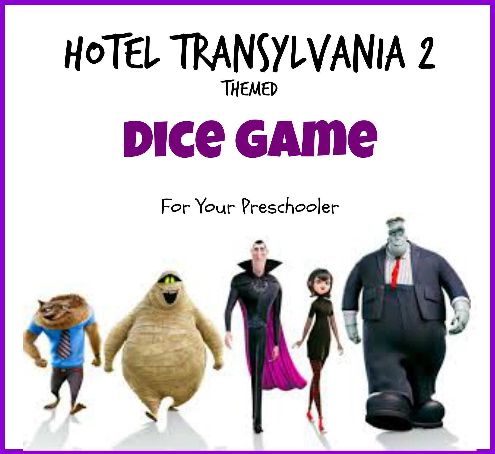Hotel Transylvania 2 Counting Game