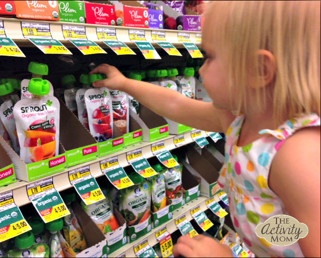Sprout Organic Toddler Purees